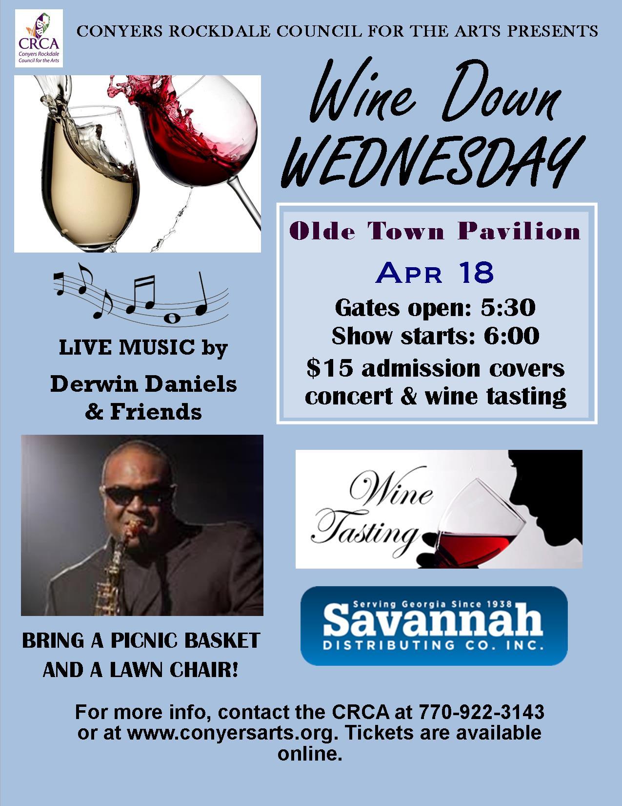 Wine Down Wednesdays 4/18