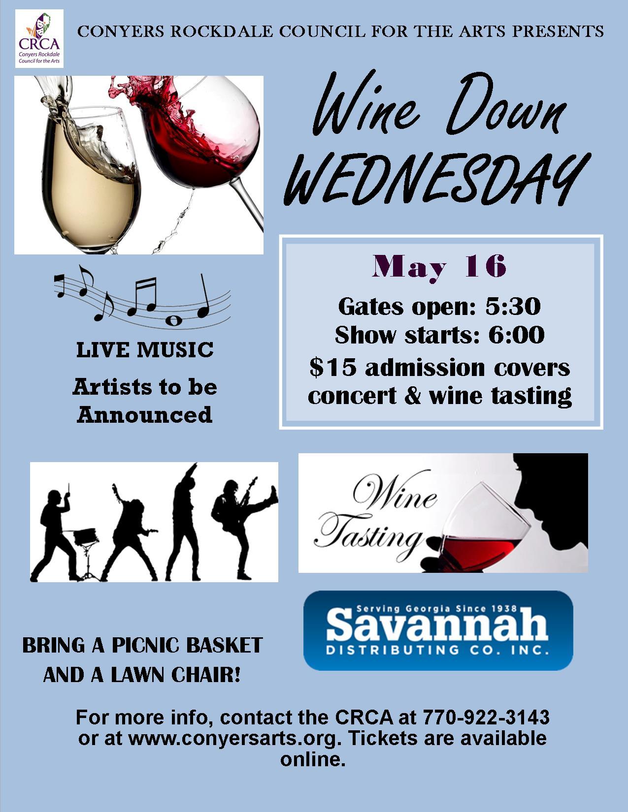 Wine Down Wednesdays 5/16