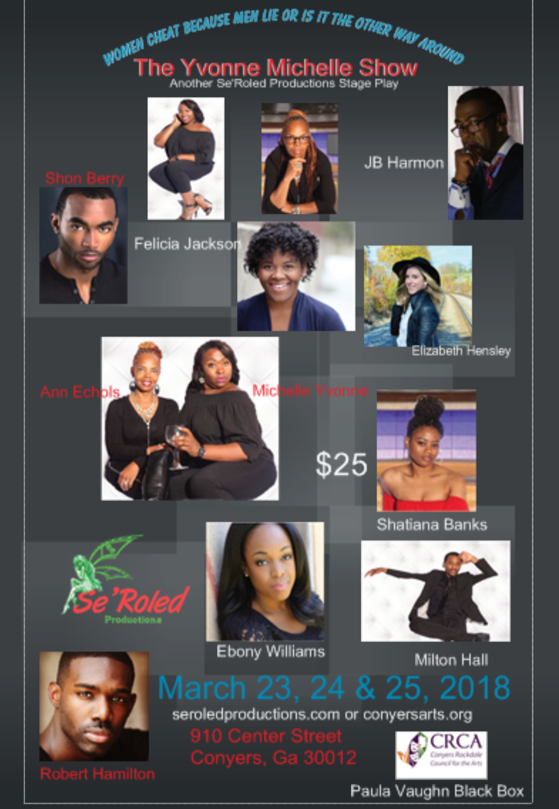 3/23@8 The Yvonne Mitchell Show: Do Women Cheat Because Men Lie, Or is it the Other way Around?