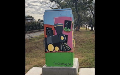 Rockdale Citizen Clipping: Beautiful Box Project transforms signal boxes