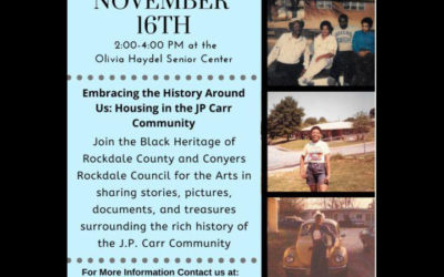 Rockdale Citizen Clipping: Embracing the History Around Us: Housing in the JP Carr Community