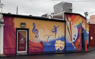 """Rockdale Citizen Clipping: Conyers Rockdale Council for the Arts sponsoring """"Name the Mural"""" contest"""
