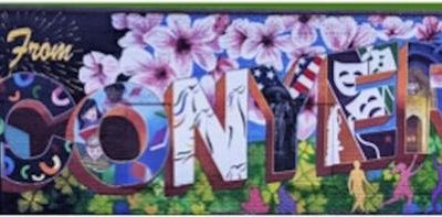 Rockdale Citizen Clipping: Mural in Olde Town pays tribute to history, culture of Conyers, Rockdale