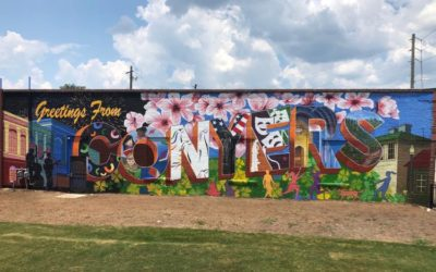Rockdale Citizen Clipping: Vibrant Communities Grant produces colorful mural in Olde Town Conyers
