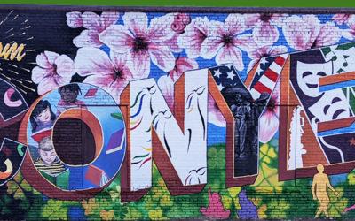 CRCA Dedicates Mural