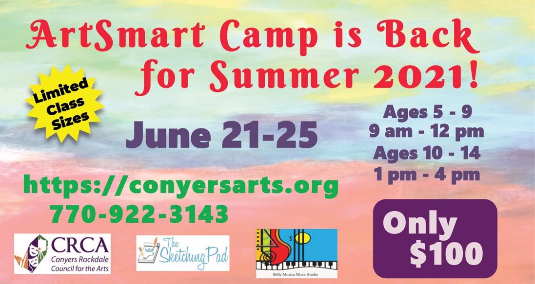 Announcing ArtSmart Camp 2021